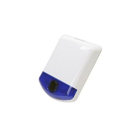 Sirène extérieure sans-fil Bi-Directionnelle avec Stroboscope Bleu