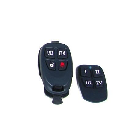 Clef sans-fil à 4 boutons-433 Mhz