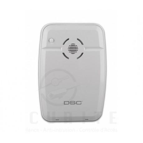 DSC - DSC Sirène sans-fil intérieure 433.92 MHz